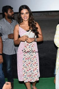 Nidhhi Agerwal at ismart Shankar Success Tour