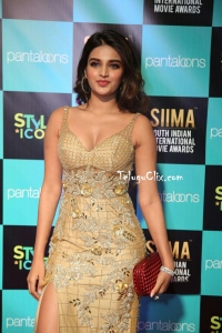 Nidhhi Agerwal at Siima Awards 2019 Red Carpet