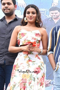 Nidhhi Agerwal at VVIT