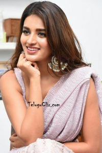 Nidhhi Agerwal Saree Photos HQ