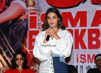 Nidhhi Agerwal at ismart Shankar Success Meet