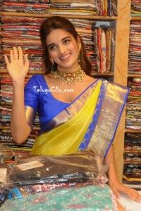 Nidhhi Agerwal in Saree