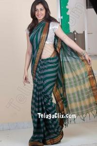 Nikki Galrani Ultra HD in Saree