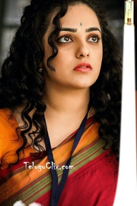 Nithya Menen in Saree