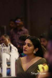 Nivetha Thomas at 118 Movie Success Meet