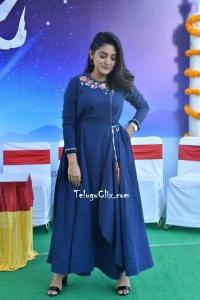 Nivetha Thomas Blue Dress