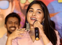 Nivetha Thomas at Brochevarevarura Success Meet
