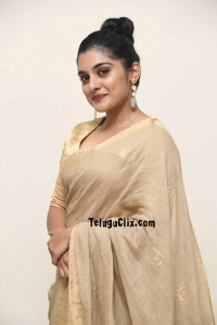 Nivetha Thomas in Saree Photos