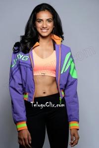 PV Sindhu Navel HD Photos