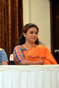Pavitra Lokesh Latest in Saree