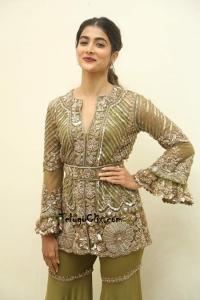 Pooja Hegde at Aravindha Sametha Success Meet