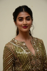 Pooja Hegde in Green Dress