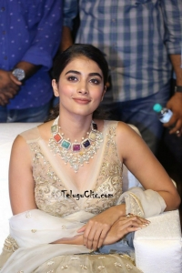 Pooja Hegde at Maharshi Pre Release