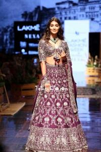 Pooja Hegde at Lakme Fashion Week 2019