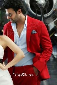 Prabhas HD Red Coat Saaho