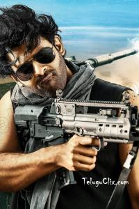 Prabhas HD Saaho with Gun