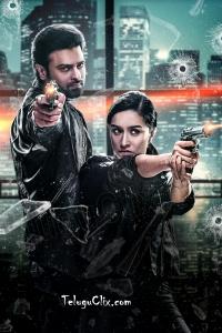 Saaho HD Action Still Prabhas Shraddha Kapoor