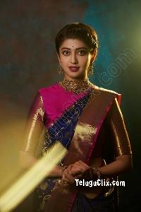 Pranitha Subhash Ultra HD in Saree