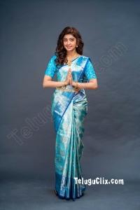 Pranitha Subhash HD in Saree