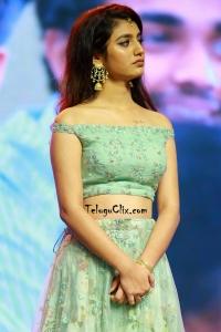 Priya Varrier at Lovers Day Audio