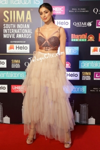 Raai Laxmi HD at Siima Awards 2019 Red Carpet