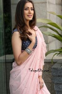 Raai Laxmi in Saree HD Photos