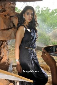 Raai Laxmi in Saree from Naga Kanya HD