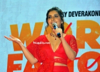 Raashi Khanna at World Famous Lover Pre Release