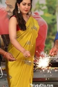 Raashi Khanna HD in Prati Roju Pandaage