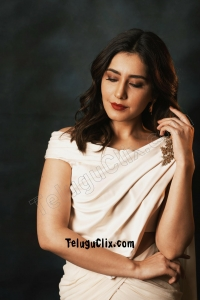 Raashi Khanna in Saree HD