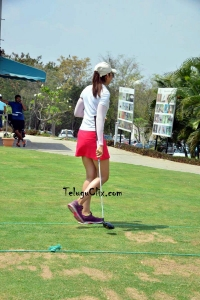 Rakul Preet Singh Golf Playing