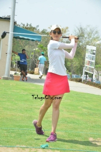 Rakul Preet Singh Playing Golf