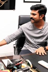 Ram Charan at His Office New Look HD