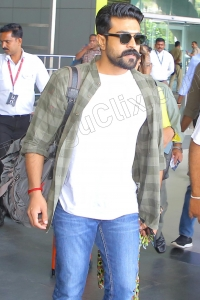 Ram Charan Latest HD at Airport
