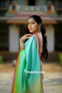 Rashmi Gautam in Saree HD 2020