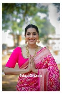 Rashmi Gautam HD in Saree