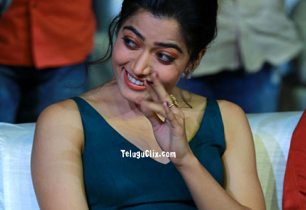 Rashmika Mandanna Hot Hd Photos Pics Stills At Bheeshma Pre Release