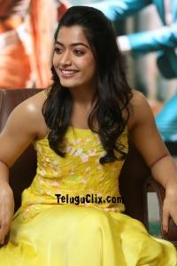 Rashmika Mandanna HD at Bheeshma interview