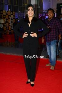 Rashmika Mandanna in Black Dress