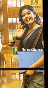 Rashmika in Saree Bheeshma