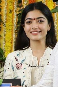 Rashmika Mandanna at Bheeshma Movie Opening