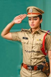 Rashmika Mandanna in Police Dress DevaDas