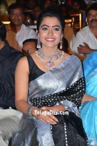 Rashmika Mandanna in Saree