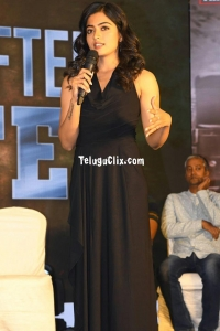 Rashmika Mandanna at SLN Thanks Meet