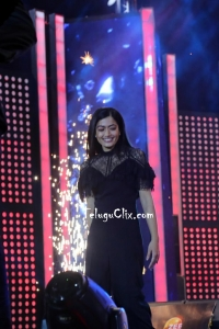 Rashmika in Black