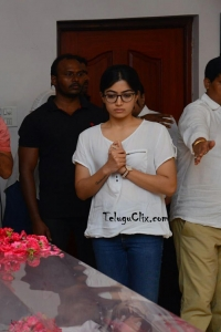 Rashmika Mandanna Pay Homage