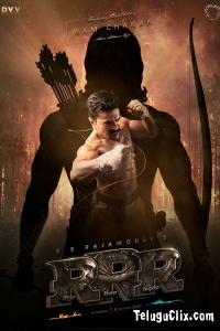 RRR UHD Poster Ram Charan as Rama Raju