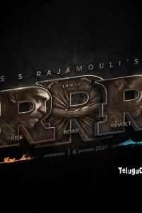 RRR Title - Roudram Ranam Rudhiram UHD Poster