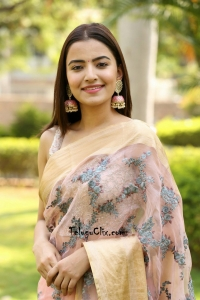 Rukshar Dhillon in Saree Photos HD