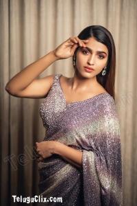 Sai Dhanshika Latest in Saree HD
